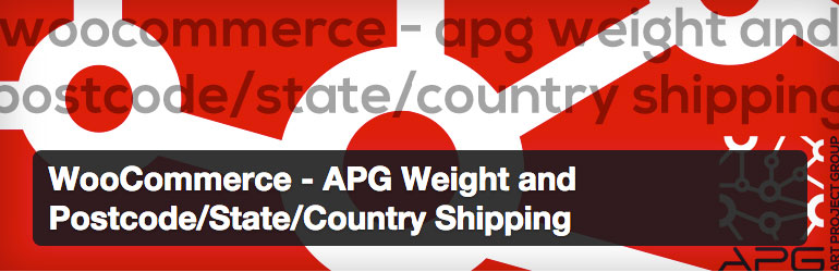 WooCommerce - APG Weight and Postcode/State/Country Shipping