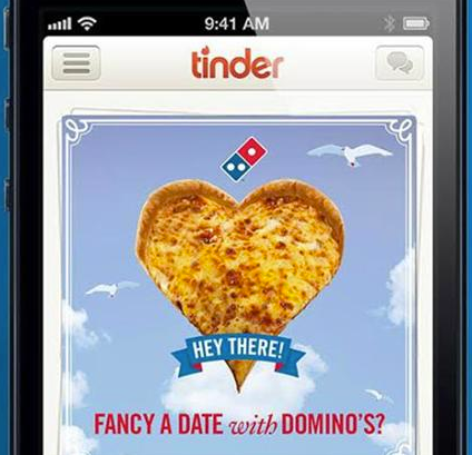 Dominos Pizza Tinder
