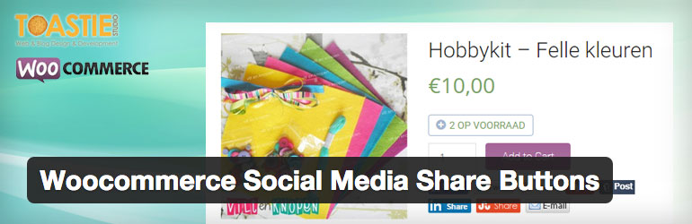 Woocommerce Social Media Share Buttons