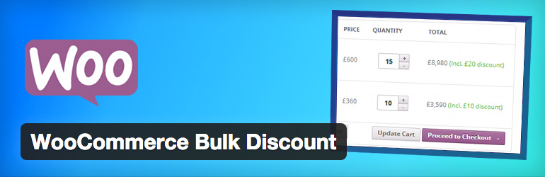 Plugins WooCommerce Bulk Discount