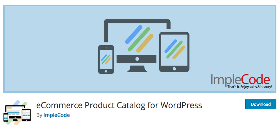 eCommerce Product Catalog for WordPress